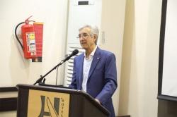 مراسم قدردانی از زحمات استاد عالیقدر شیمی معدنی ایران جناب آقای پروفسور امیرنصر
