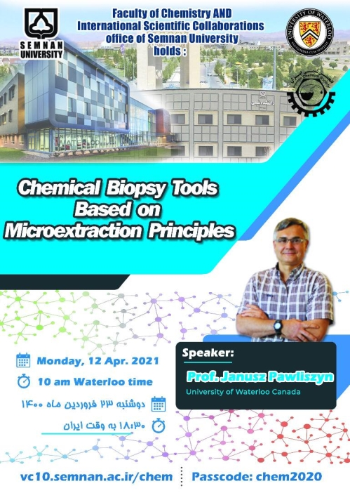Chemical Biopsy Tools Based on Microextraction Principles Webinr